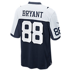 Dallas Cowboys Dez Bryant #88 Nike Game Replica Throwback Jersey