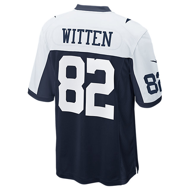 d7b2355fc Dallas Cowboys Jason Witten Nike Game Replica Throwback Jersey ...