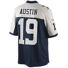 Dallas Cowboys Austin Nike Limited Throwback Jersey