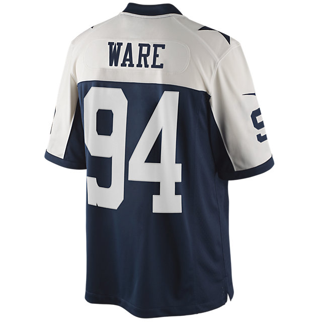 Dallas Cowboys Ware Nike Limited Throwback Jersey 3XL-4XL