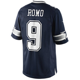 Dallas Cowboys Tony Romo #9 Nike Navy Limited Jersey
