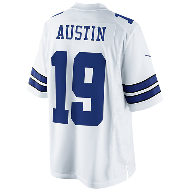 Dallas Cowboys Miles Austin #19 Nike White Limited Jersey