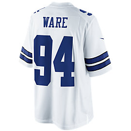 Dallas Cowboys DeMarcus Ware #94 Nike White Limited Jersey