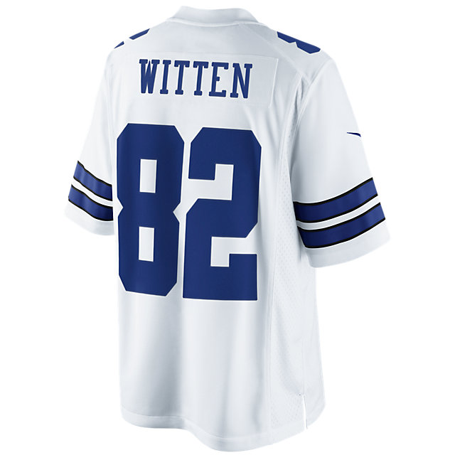 Dallas Cowboys Jason Witten #82 Nike White Limited Jersey
