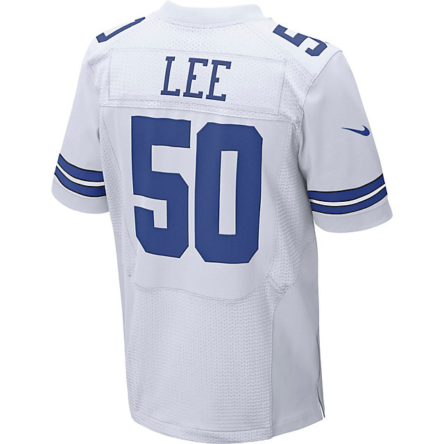Dallas Cowboys Sean Lee #50 Nike White Elite Authentic Jersey