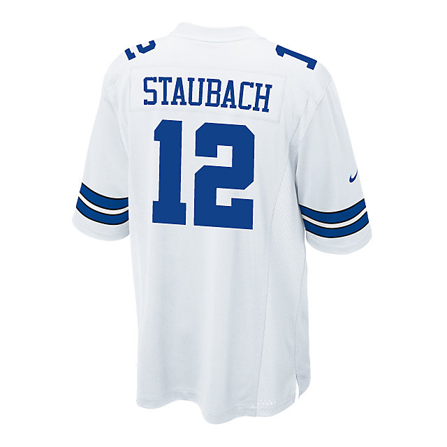 Dallas Cowboys Legend Roger Staubach Nike Game Replica Jersey