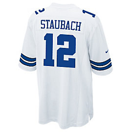 Dallas Cowboys Legend Roger Staubach Nike Game Replica Jersey 3XL-4XL