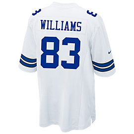 Dallas Cowboys Terrance Williams #83 Nike White Game Replica Jersey 3XL-4XL