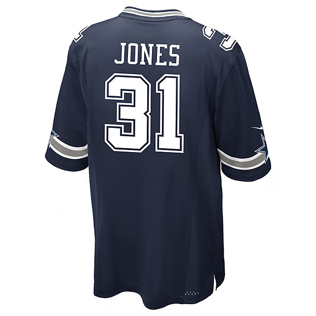 Dallas Cowboys Byron Jones Navy Nike Game Replica Jersey 3XL-4XL