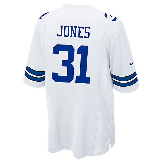 Dallas Cowboys Byron Jones White Nike Game Replica Jersey