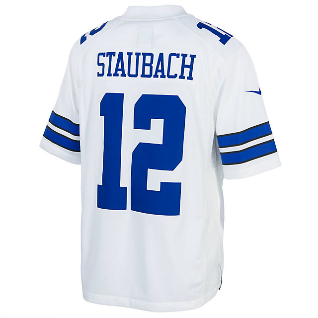 Dallas Cowboys Legend Roger Staubach Nike White Limited Jersey