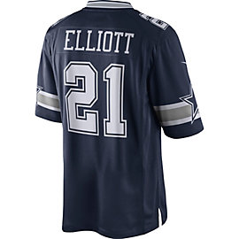 Dallas Cowboys Ezekiel Elliott #21 Nike Navy Limited Jersey