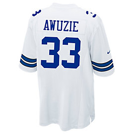 Dallas Cowboys Chidobe Awuzie Nike White Game Replica Jersey