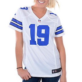Dallas Cowboys Womens Miles Austin #19 Nike White Game Replica Jersey