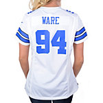 Dallas Cowboys Womens DeMarcus Ware #94 Nike White Game Replica Jersey