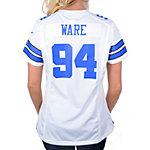 Dallas Cowboys Womens DeMarcus Ware #94 Nike White Game Replica Jersey