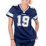 Dallas Cowboys Womens Miles Austin #19 Nike Navy Game Replica Jersey