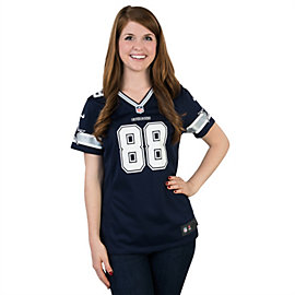 Dallas Cowboys Womens Dez Bryant #88 Nike Navy Game Replica Jersey