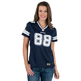 Dallas Cowboys Womens Dez Bryant #88 Nike Navy Limited Jersey