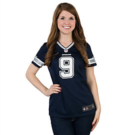 Dallas Cowboys Womens Tony Romo #9 Nike Navy Limited Jersey