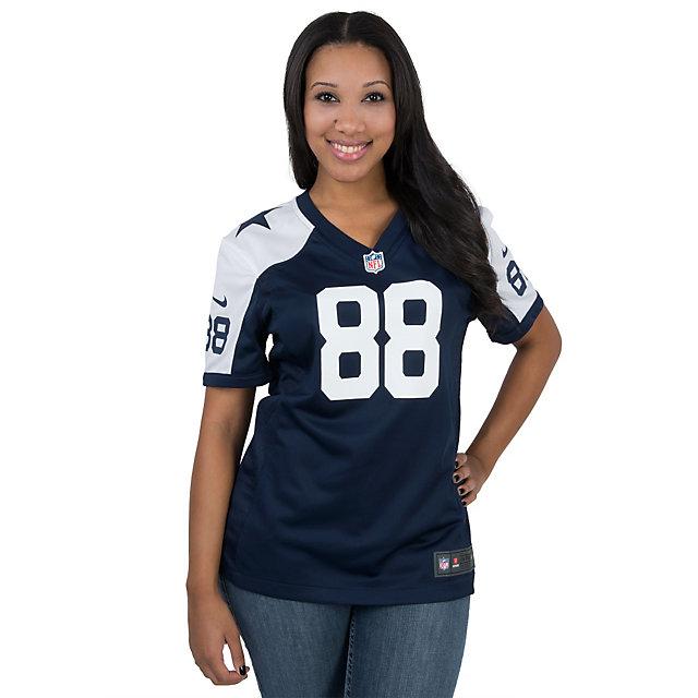 Dallas Cowboys Womens Dez Bryant #88 Nike Game Throwback Jersey ...