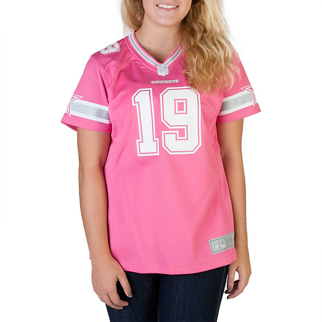 Dallas Cowboys Womens Miles Austin #19 Pink Jersey