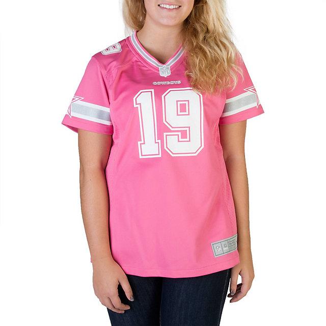 Dallas Cowboys Womens Miles Austin #19 Pink Jersey