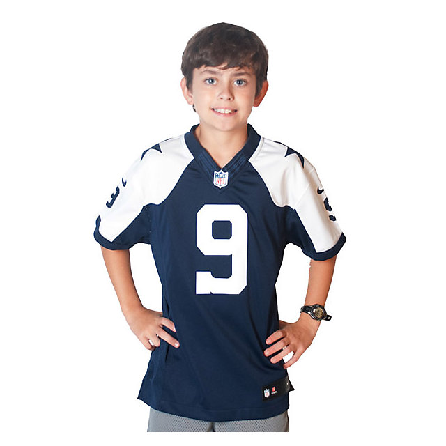 Dallas Cowboys Youth Tony Romo Nike Limited Throwback Jersey