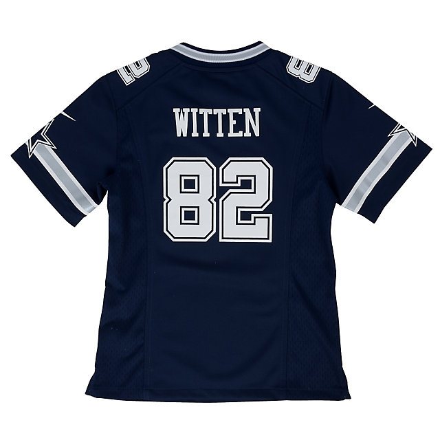 Dallas Cowboys Girls Jason Witten #82 Nike Game Navy Replica Jersey