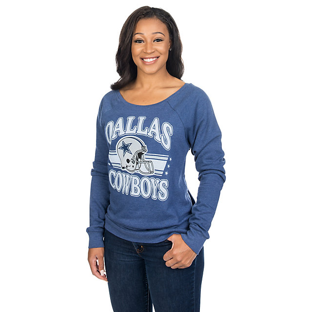 Dallas Cowboys Mitchell & Ness Womens Helmet Tee