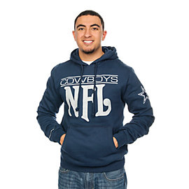 Dallas Cowboys Mitchell & Ness Passing Yards Pullover Hoody