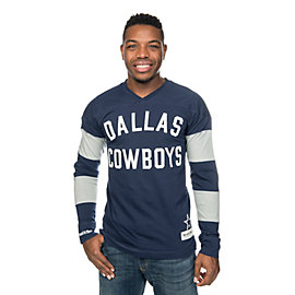 Dallas Cowboys Mitchell & Ness Field Goal Long Sleeve Tee