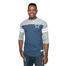 Dallas Cowboys Mitchell & Ness Start of Season Henley