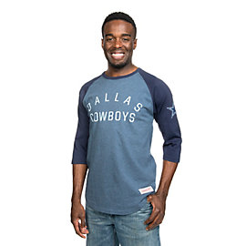 Dallas Cowboys Mitchell & Ness Team Issued ¾ Raglan Tee