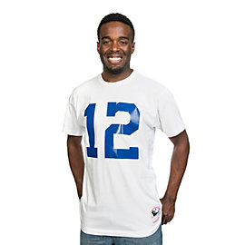 Dallas Cowboys Mitchell & Ness Roger Staubach #12 Name & Number Tee