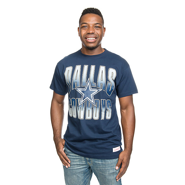 Dallas Cowboys Mitchell & Ness Navy Tee