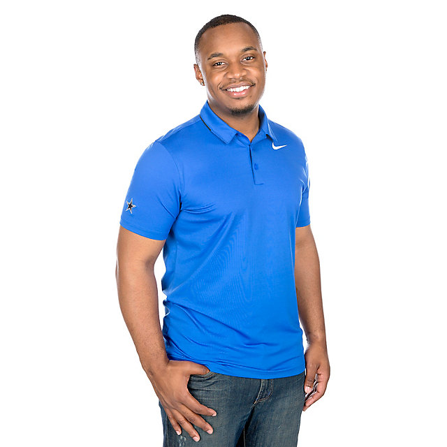 Dallas Cowboys Nike Dry Solid Golf Polo