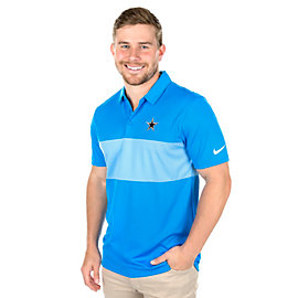 Dallas Cowboys Nike Breathe Color Block Golf Polo