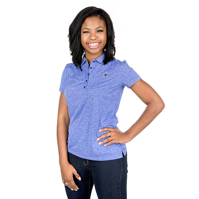 Dallas Cowboys Nike Womens Dry Golf Polo