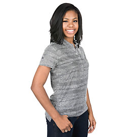 Dallas Cowboys Nike Womens Precision Zebra Print Golf Polo