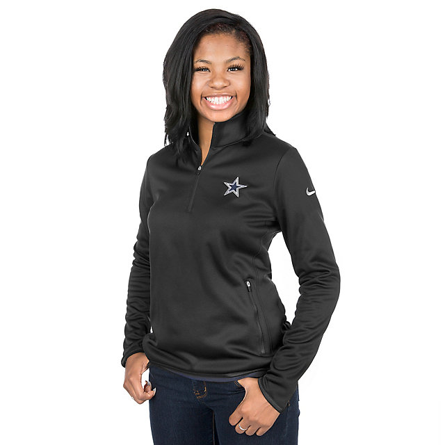 Dallas Cowboys Nike Golf Womens Thermal 1/2 Zip Pullover