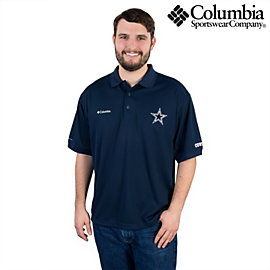 Dallas Cowboys Columbia Perfect Cast Polo