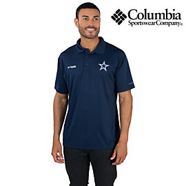 Dallas Cowboys Columbia Zero Rules Polo