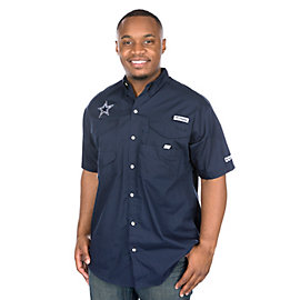 Dallas Cowboys Columbia Bonehead Short Sleeve Tee