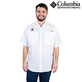 Dallas Cowboys Columbia Tamiami Short Sleeve Shirt
