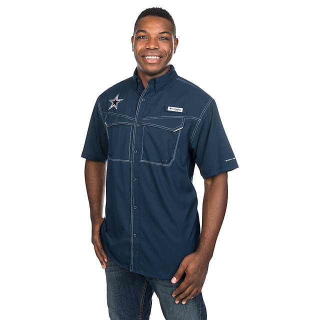 Columbia gear cowboys catalog dallas cowboys pro shop for Dallas cowboys fishing shirt