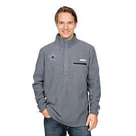 Dallas Cowboys Columbia Harborside Fleece Half-Zip Pullover