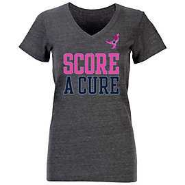 Dallas Cowboys Womens BCA Rose Tee