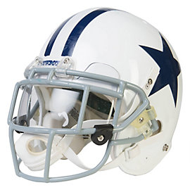Dallas Cowboys Orlando Scandrick Game Worn 2011 Throwback Helmet