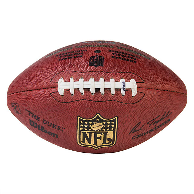 Dallas Cowboys Game Used Kicker Football with Referee Markings